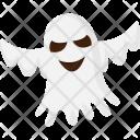 Ghost Halloween Black Icon
