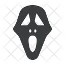 Ghost Face Horror Icon