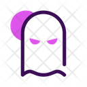 Ghost Halloween October Icon