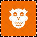 Ghost Creepy Skull Icon