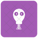Ghost Skull Spooky Icon