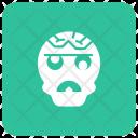 Spooky Creepy Ghost Icon