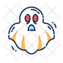 Ghost Face Scary Icon