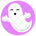 Ghost Halloween Spooky Icon