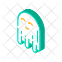 Ghost Mystery Isometric Icon