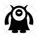 Monster Ghost Creature Icon