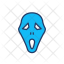 Ghost Skull Clown Icon