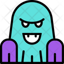 Ghost Monster Scary Icon