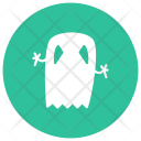 Ghost Skull Zombie Icon