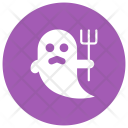 Ghost Halloween Skull Icon
