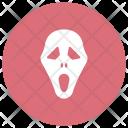 Ghost Skull Clown Icon