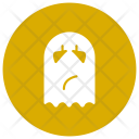 Ghost Jester Halloween Icon