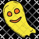 Ghost Black Halloween Icon