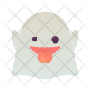 Ghost Emoji Smiley Icon