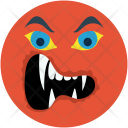 Ghost Demon Mouth Icon