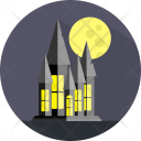 Ghost House Fabric Icon