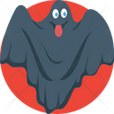 Ghost Demon Mouth Halloween Demon Mouth Icon