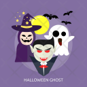 Ghost Moon Bat Icon