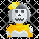 Ghost Bride Horror Halloween Icon