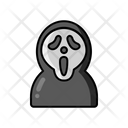 Ghost Face Zombie Evil Face Icon