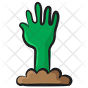 Ghost Hand Evil Hand Scary Hand Icon