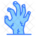 Ghost Hand Zombie Hand Evil Hand Icon