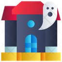 Ghost House Ghost Fantasy Icon