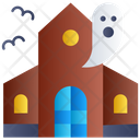 Ghost House Horror House Haunted House Icon