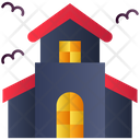 Ghost House Haunted House Horror House Icon