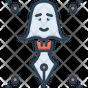 Ghostwriter Storyteller Spooky Icon