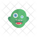 Ghoul Zombie Monster Icon
