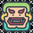 Giant Gaint Gaint Face Icon