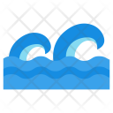 Seo Water Waves Icon