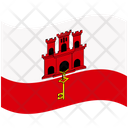 Flag Country Gibraltar Icon