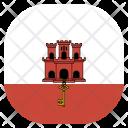 Gibraltar National Country Icon