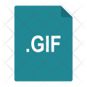 Gif File Format Icon