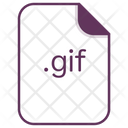 Gif Animaation File Icon