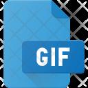 Gif File Animation Icon