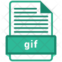 Gif File Formats Icon