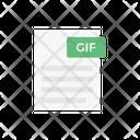 Gif File Document Icon
