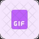 Gif File Gif File Format Icon