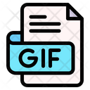Gif File Type File Format Icon