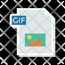 Document File Gif Icon