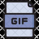 Gif File File Format File Type Icon