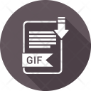 Gif Extension Document Icon