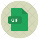 Gif File Extension Icon