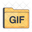 Gif Folder Data Folder Docs Icon