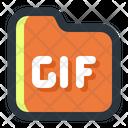 Gif Folder Gif Image Icon