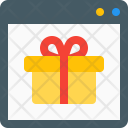 Gift Store Online Icon