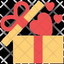 Gift Box Shaped Icon